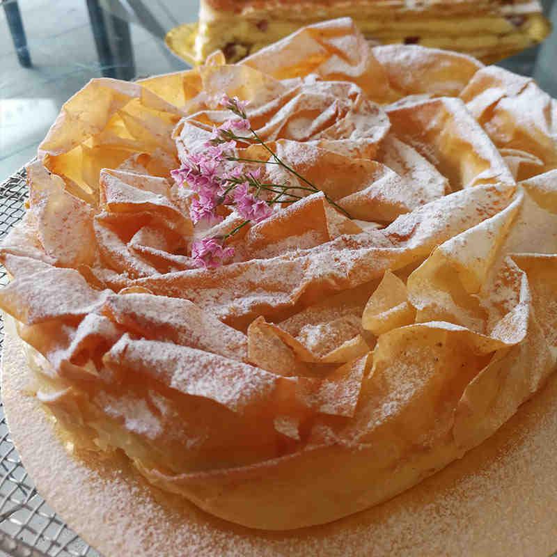 Tarta Filo de Manzana