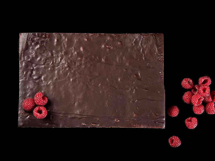 Tarta de Chocolate y Frambuesa